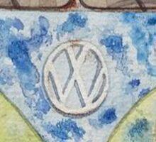 Volkswagen Van Sticker