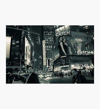 Night Lights of Times Square Photographic Print
