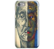 Smoking Man iPhone Case/Skin