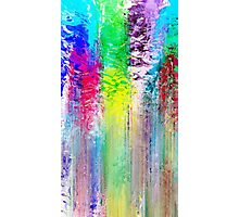 Abstract colorful painted background Photographic Print