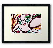 Jigglypuff | Pound Framed Print