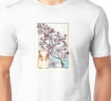 Hamster Under Lilac Unisex T-Shirt