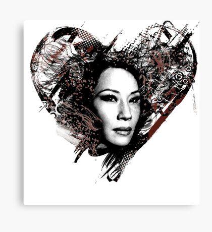 I Love Lucy Liu Canvas Print