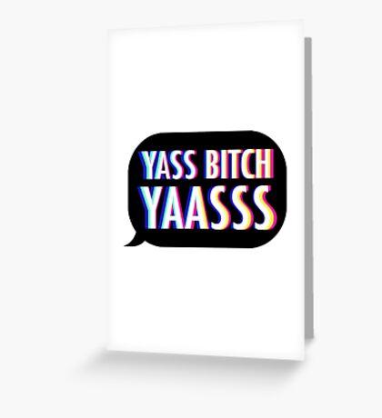 Yasss (V2) Greeting Card