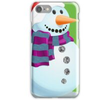 Jolly Snowman iPhone Case/Skin