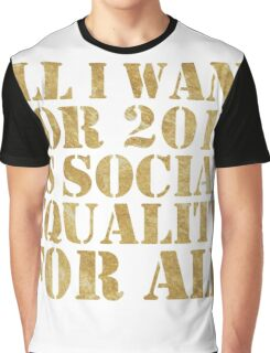 New Year's Resolution Graphic T-Shirt