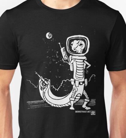 Dr. Johan Von Skinkely Investigates Sector 12 (White Version) Unisex T-Shirt