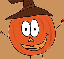 Thanksgiving Pumpkin by Ruta Rudminaite