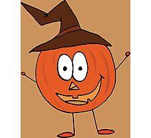 Thanksgiving Pumpkin Photographic Print