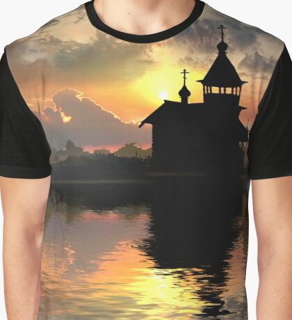 Silhouettes of the Christianity Graphic T-Shirt