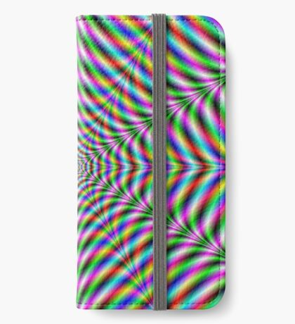Twelve Pointed Psychedelic Web iPhone Wallet/Case/Skin
