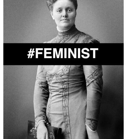 #Feminist Badass Sticker