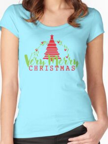 Have a Very Merry Christmas Women's Fitted Scoop T-Shirt