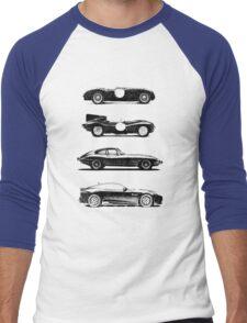 Evolution of the Cat Men's Baseball ¾ T-Shirt