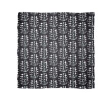 Chess Black and White Scarf