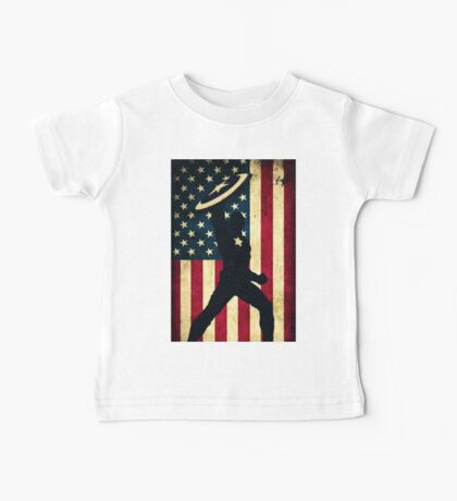 All-American Captain Baby Tee