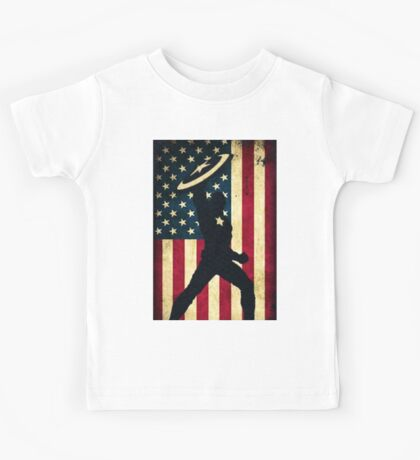 All-American Captain Kids Tee