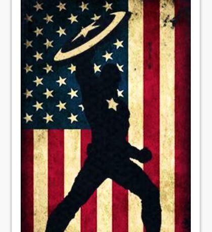 All-American Captain Sticker