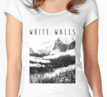 Road Trippin' --- White Walls Women's Fitted Scoop T-Shirt