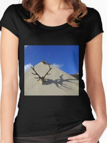 Antler Shadows Women's Fitted Scoop T-Shirt