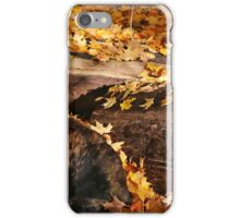 Logs and Leaves iPhone Case/Skin