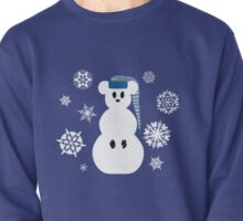 White Christmas Mouse - Hoodie / Sweatshirt (see other for t-shirts) Pullover