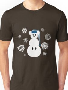 White Christmas Mouse - Hoodie / Sweatshirt (see other for t-shirts) Unisex T-Shirt