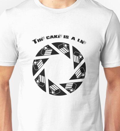 Tha cake is a lie Unisex T-Shirt