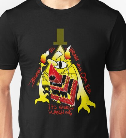 Beware the Beast with just ONE EYE Unisex T-Shirt