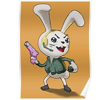 """""""Bunbuns"""" from the Merry Furries Squad Poster"""