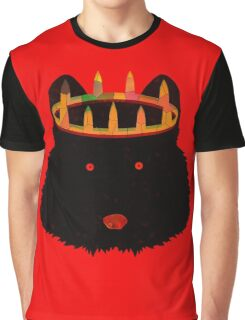 Crowned Wolf Graphic T-Shirt