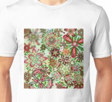 Christmas Kaleidoscope Floral 1 Unisex T-Shirt