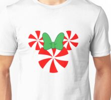 Peppermint Minnie Mouse Design Unisex T-Shirt