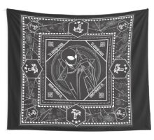Alien Paisley Wall Tapestry