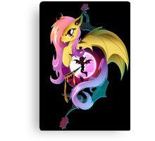 Flutterbat Canvas Print