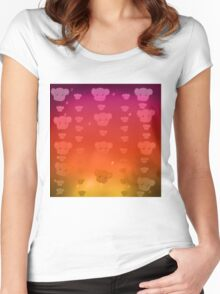 Koala Sun / Day  Women's Fitted Scoop T-Shirt