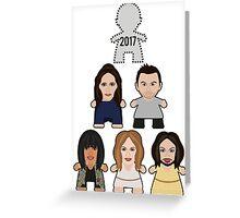 Eurovision Winners - 2017? Greeting Card