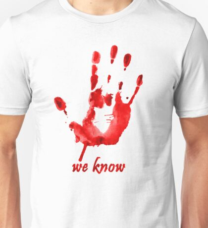 We Know - Dark Brotherhood - Watercolor Unisex T-Shirt