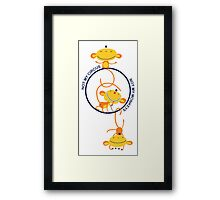 not my circus, not my monkeys! Framed Print