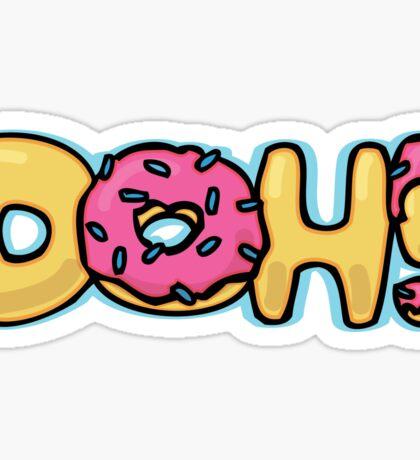 DOH!  Sticker