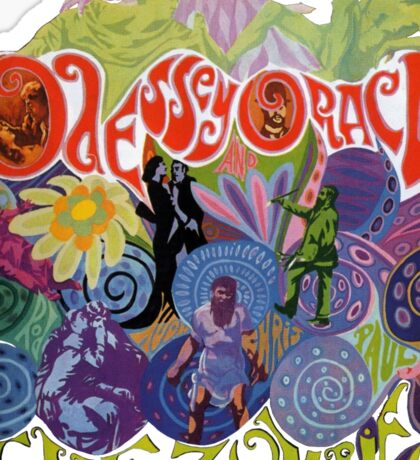 The Zombies - Odessey and Oracle Sticker