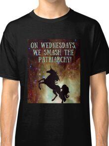 Unicorns Smash Patriarchy! Classic T-Shirt