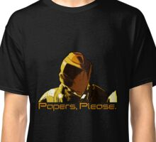 Papers, Please. Classic T-Shirt