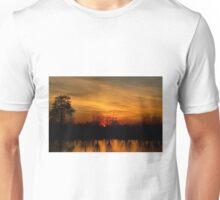 Sunset Fire Unisex T-Shirt