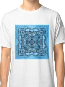 blue garden patttern Classic T-Shirt