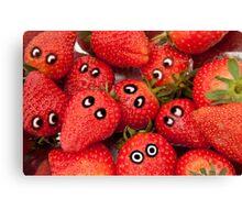 Strawberry fun. Canvas Print