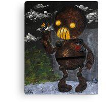 Steampunk Robot Canvas Print