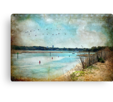 Turquoise Serenity Canvas Print