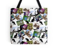 Collage of  Cat Photographs  Tote Bag