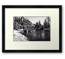 Yellowstone Nationa Park - Changing Framed Print